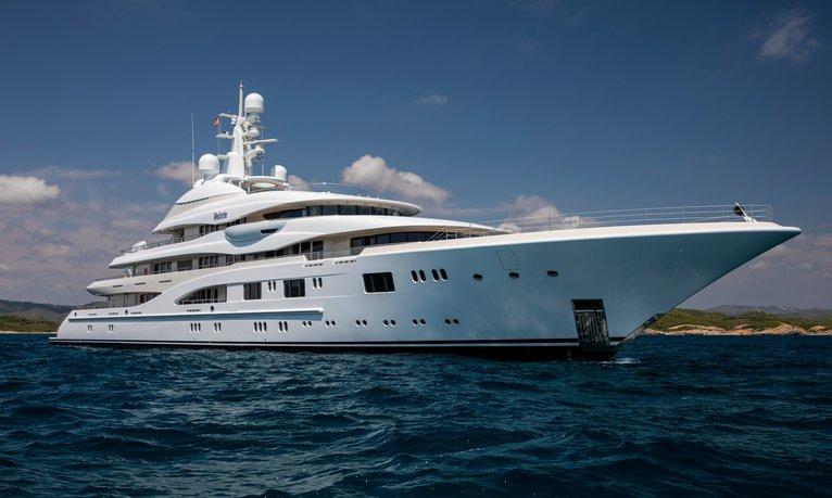 Charter fleet welcomes 85m Lurssen yacht VALERIE to its ranks