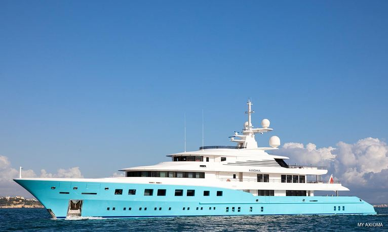 Monaco Grand Prix: special last minute offer onboard luxury yacht AXIOMA