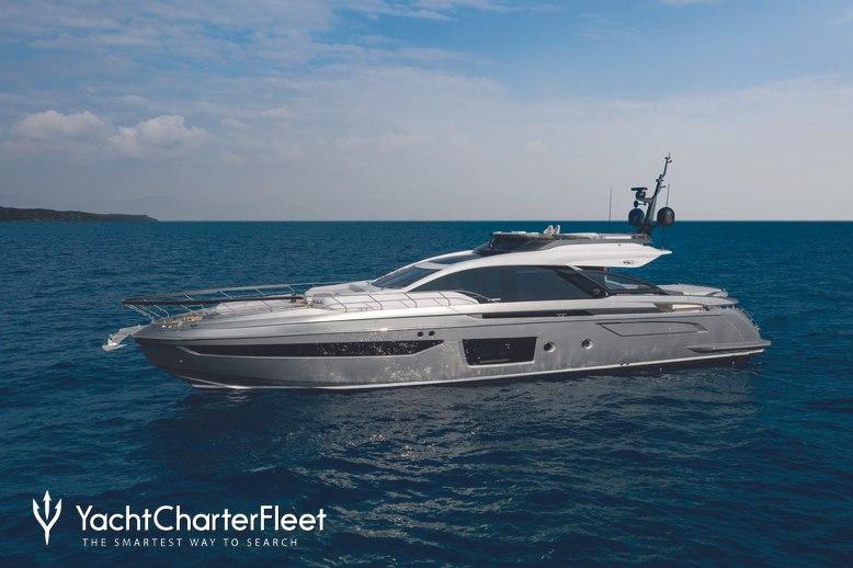 Azimut Grande S8/ 01 Charter Yacht