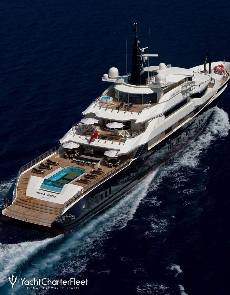 Alfa Nero on Design Gt Luxury Yacht Interior