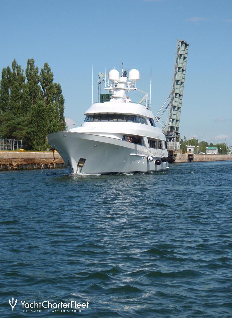 Cv 9 Yacht Charter Price Delta Marine Luxury Yacht Charter