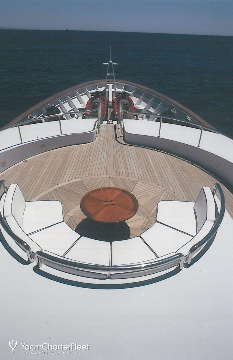 Luxury Yacht Engine Room: AKIRA ONE Yacht Charter Price
