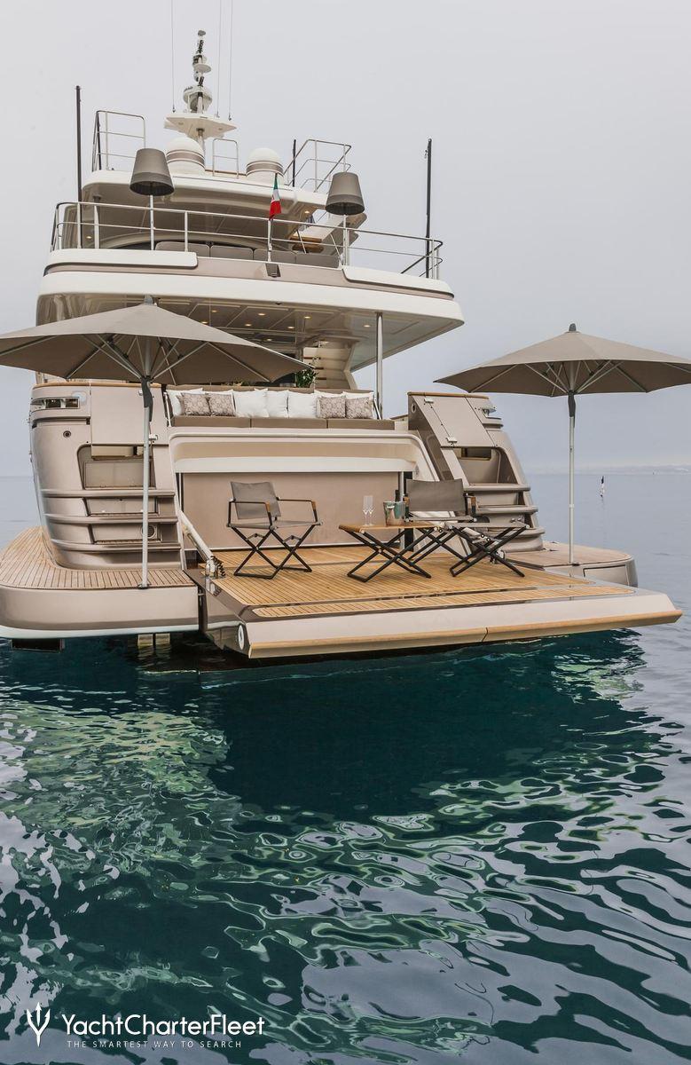 Luxury Yacht Engine Room: Custom Line Luxury Yacht Charter