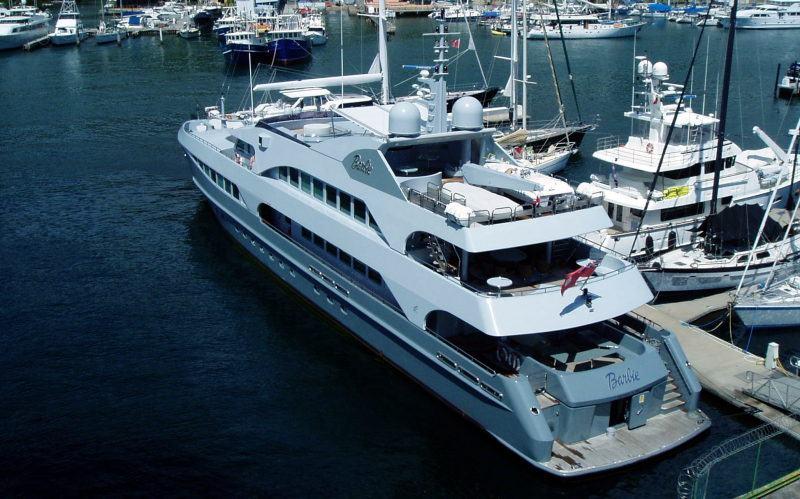 barbie yacht