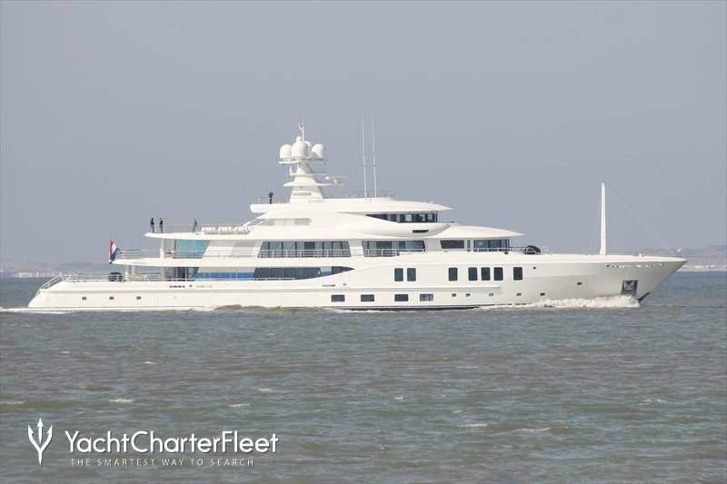 New Secret Yacht Amels Yacht Charter Fleet