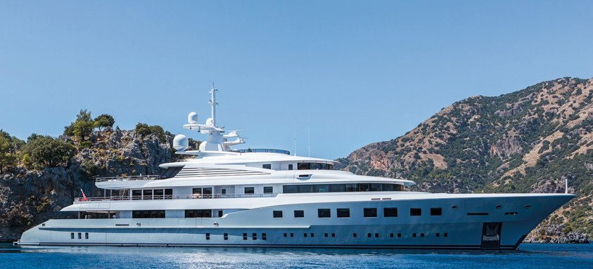 72m M/Y AXIOMA joins Monaco Yacht Show 2018 line-up