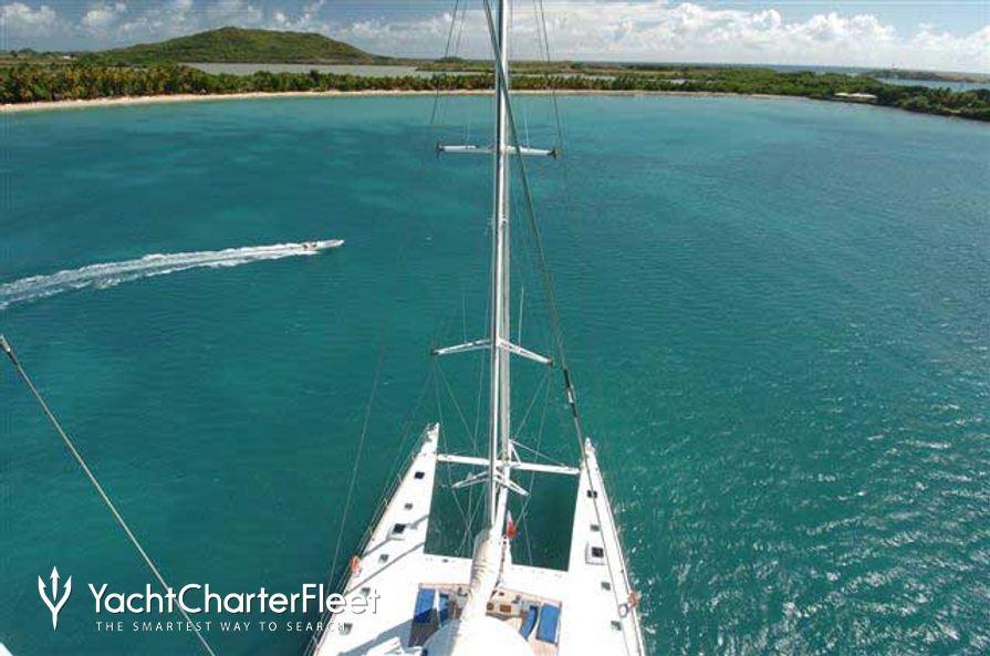 Douce France Yacht Overhead