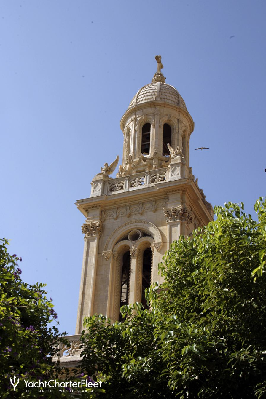 Bell tower of Saint-Charles Church