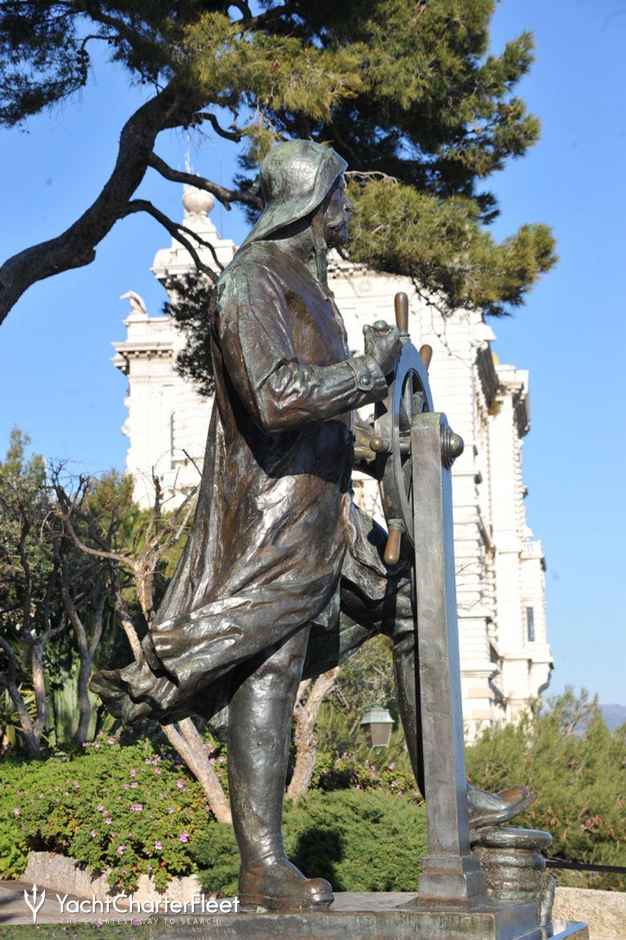 Statue of Sailor, Jardin St. Martin