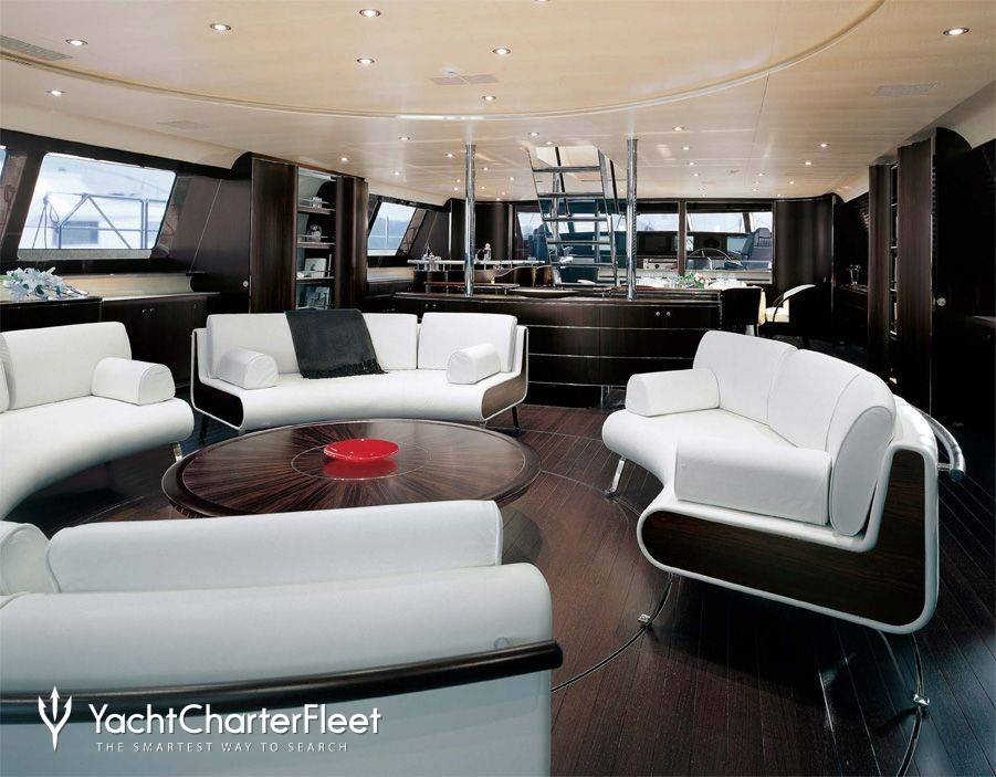 Parsifal iii yacht charter price perini navi luxury for 901 salon prices