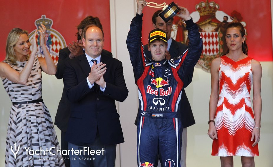 F1 Race winner presentation