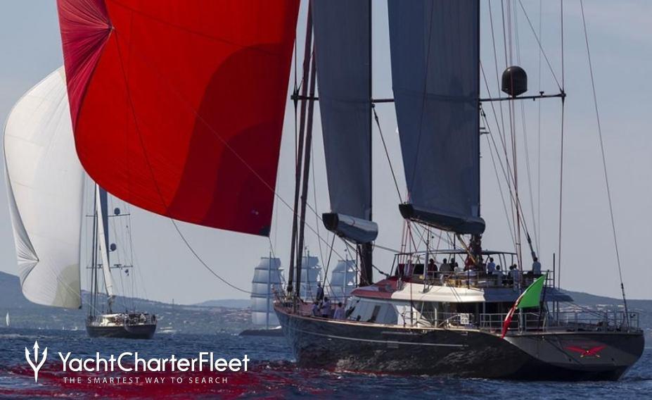 Perini Navi Seahawk Sailing Yacht