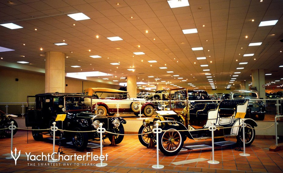 Prince Rainer III's private collection of antique cars