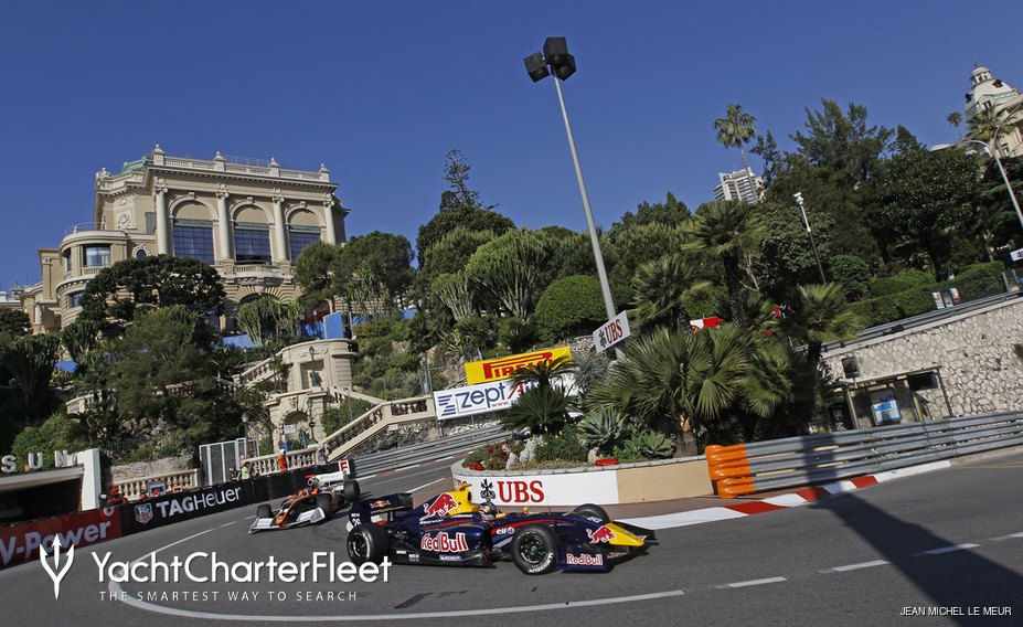 Formula 1 race around the streets of Monaco