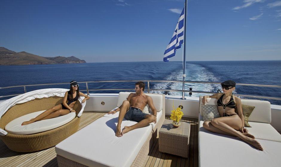 10 Top Greek Flagged Charter Yachts