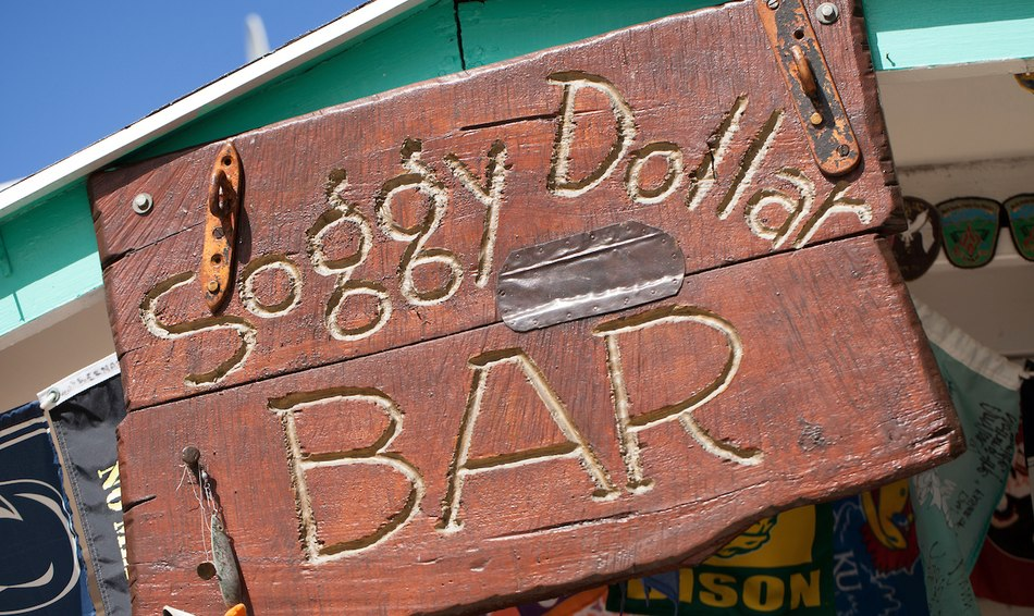 SOGGY DOLLAR BAR, BRITISH VIRGIN ISLANDS