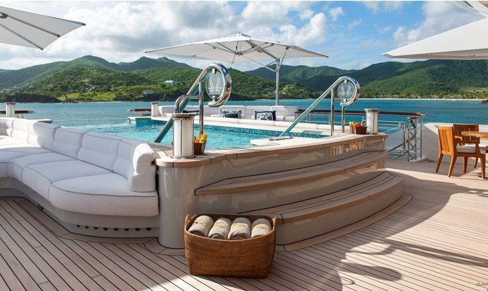 10 Top Charter Yachts With Spas Image 1