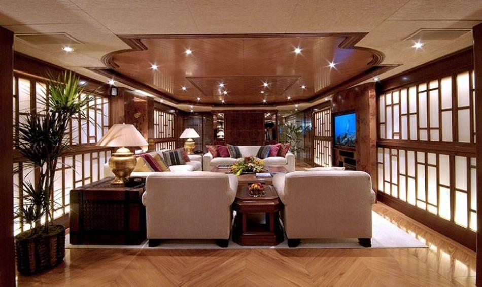 Donald Starkety interior on board POLLUX