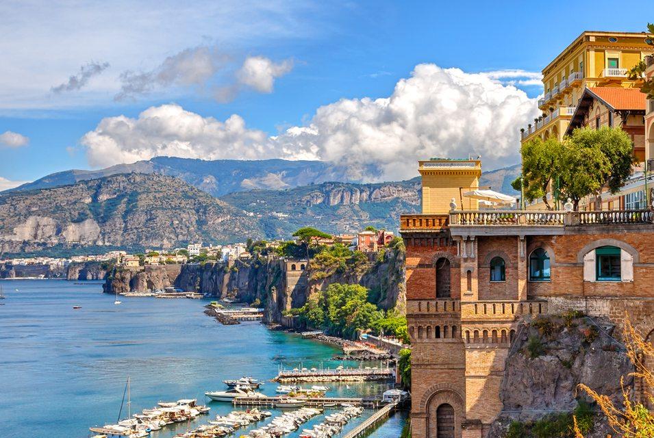 Coast of Sorrento, Italy