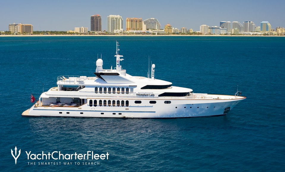 Triumphant Lady Charter Yacht