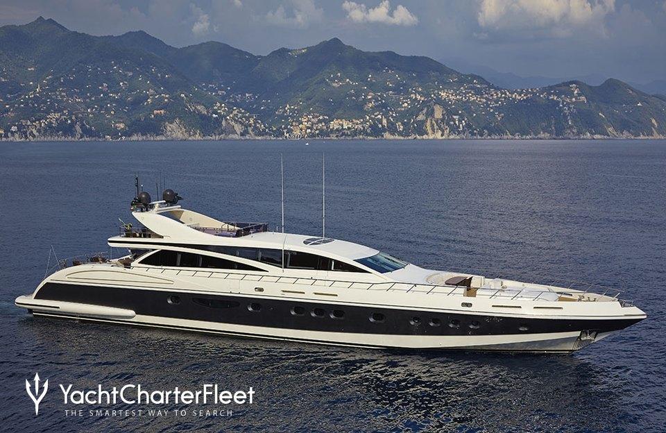 Antelope III Charter Yacht