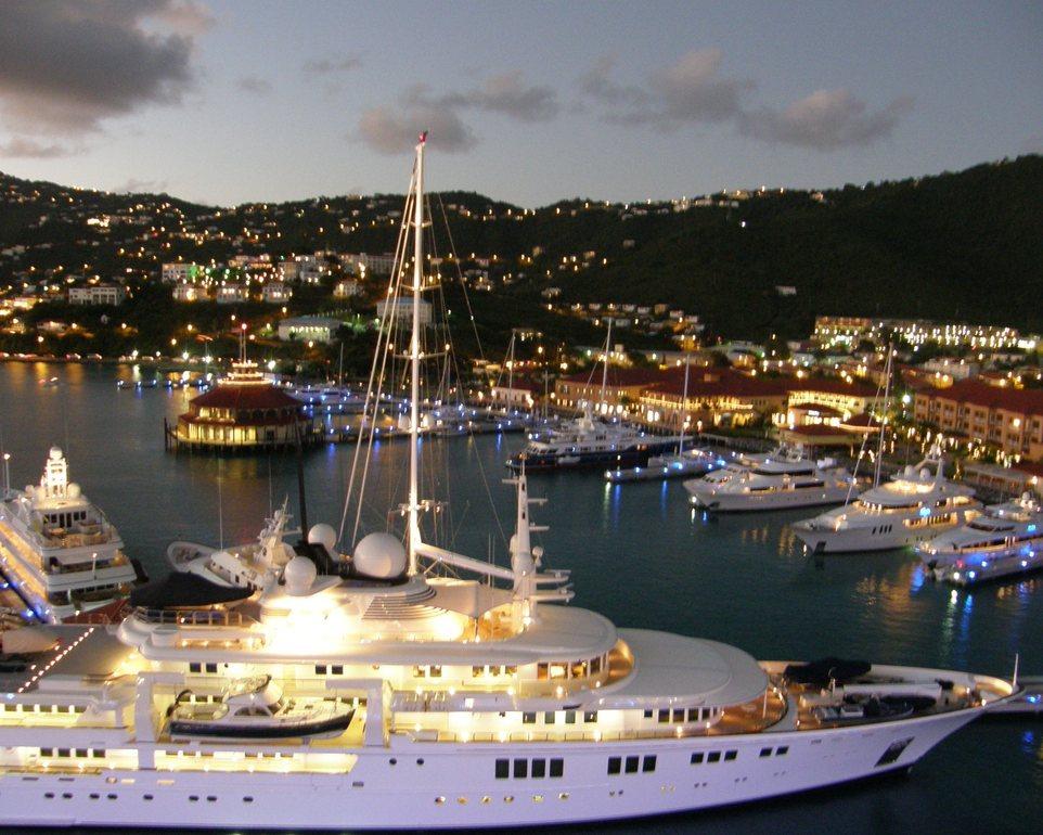 yacht british virgin charter island