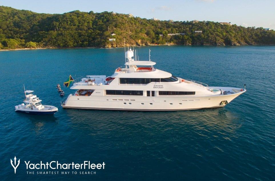Chasing Daylight Charter Yacht