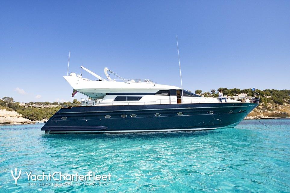 Furia Sexto Charter Yacht