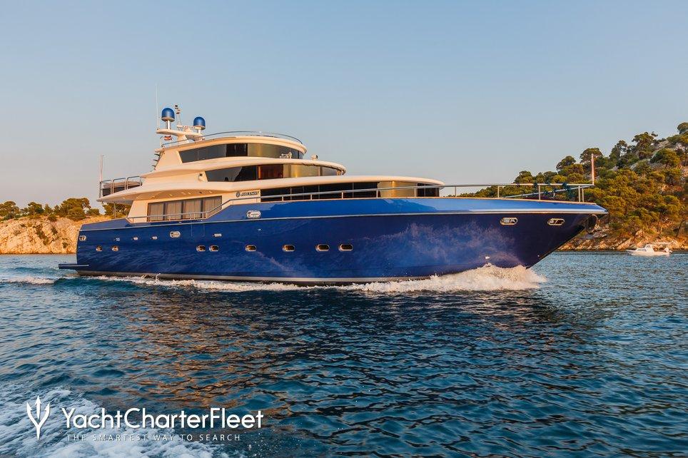 Johnson Baby Charter Yacht