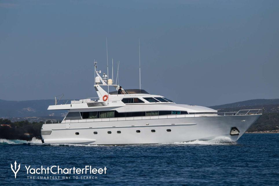 Bora Bora II Charter Yacht