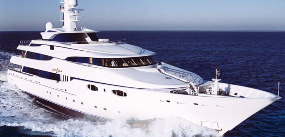 Zenobia Charter Yacht