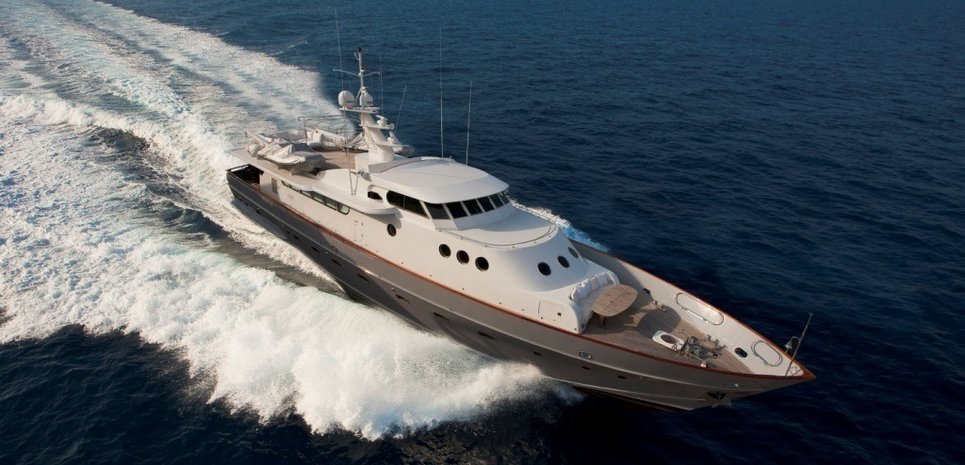 R. Paolucci Charter Yacht