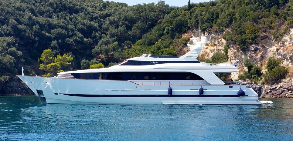 Lady P Charter Yacht
