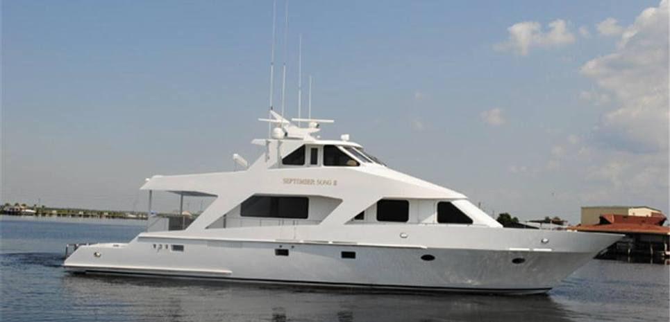 September Song II Charter Yacht