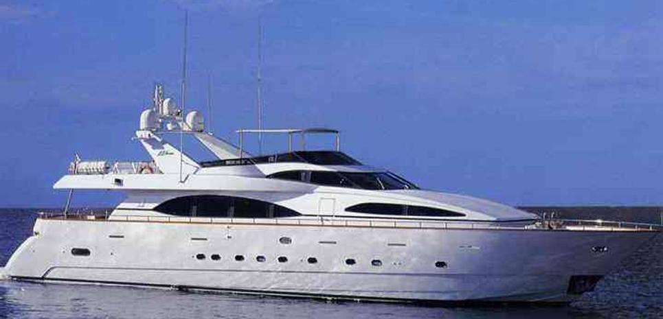 Azimut Jumbo 100 Charter Yacht