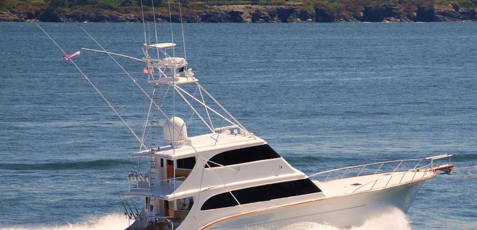 Plastic Toy Charter Yacht
