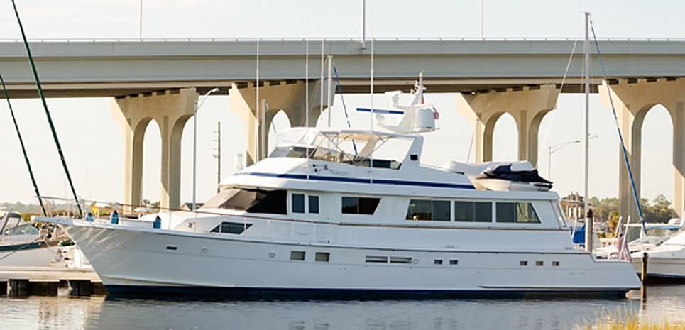 Ambling Along Charter Yacht