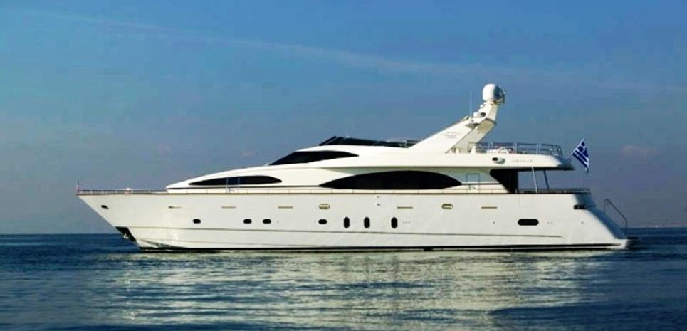 Ouzo Palace Charter Yacht