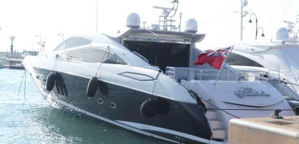 Sunseeker Predator 82 Charter Yacht