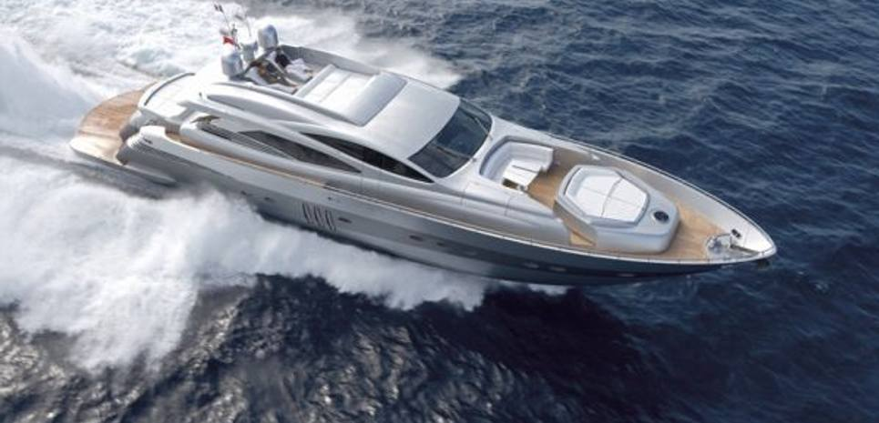 YCM 90 Charter Yacht
