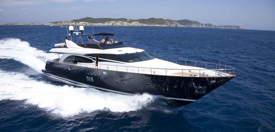 Lady Amanda Charter Yacht
