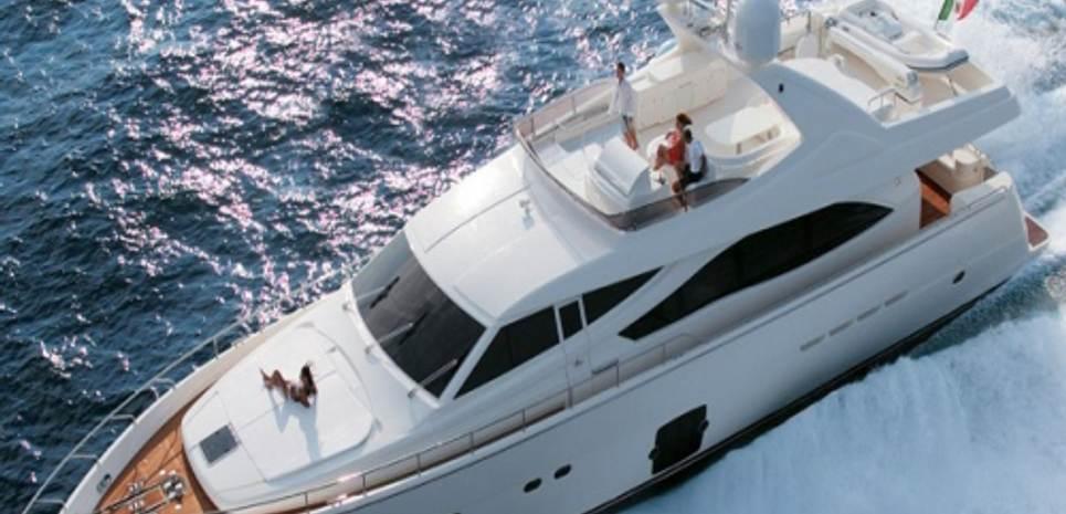 Chi 5 Charter Yacht