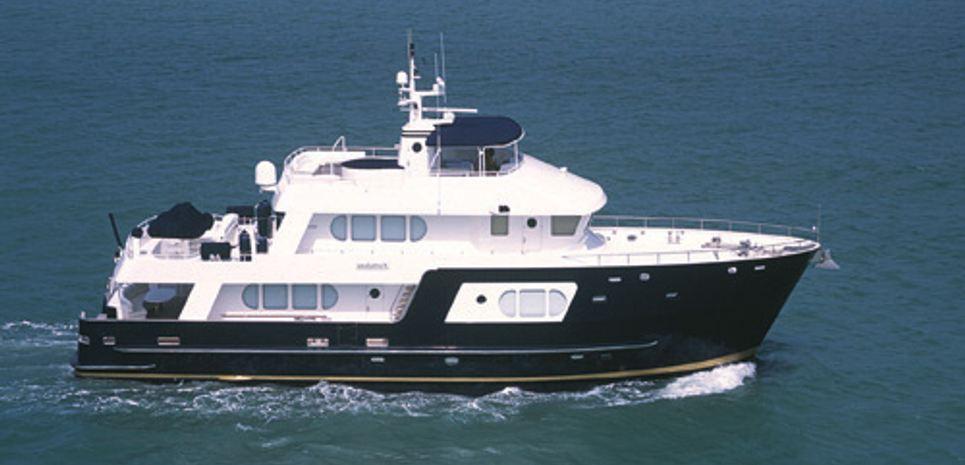 Fortaleza Charter Yacht