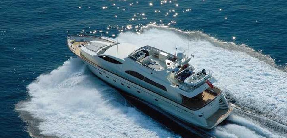Baron B Charter Yacht