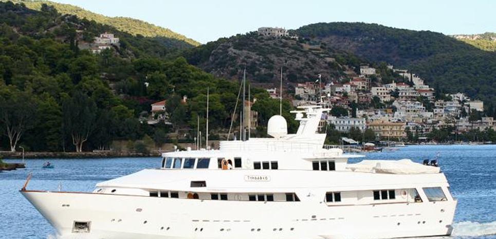 Tyndareo Charter Yacht
