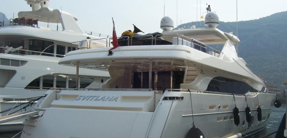 Svitlana Charter Yacht