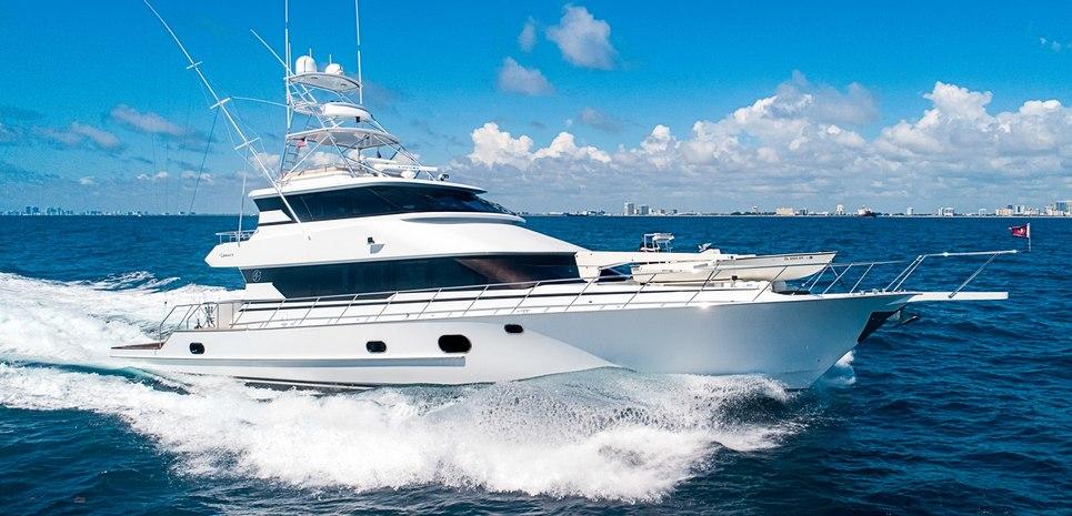 Grand Legacy Charter Yacht