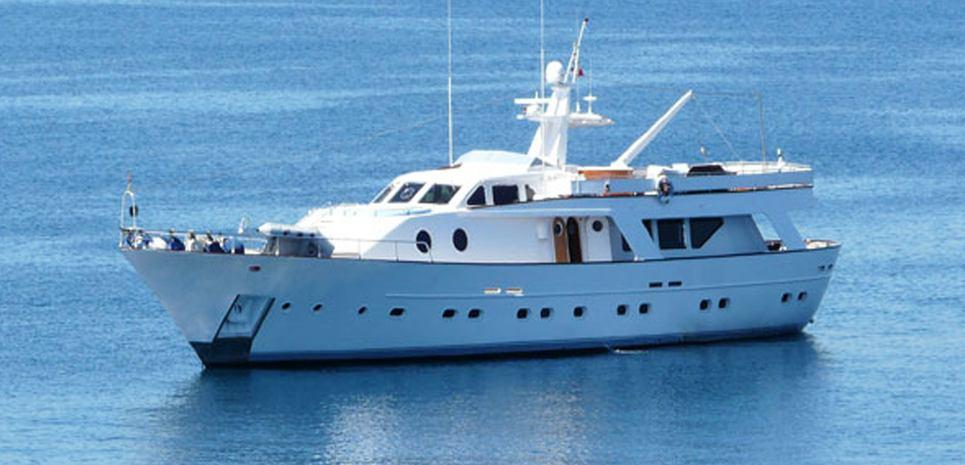 Gone Away Charter Yacht