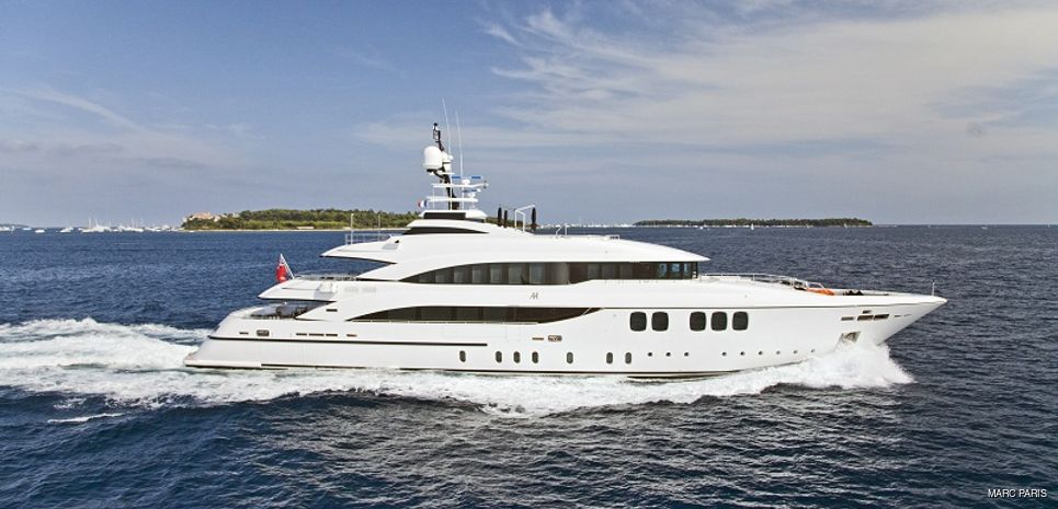 Alexander Again Charter Yacht