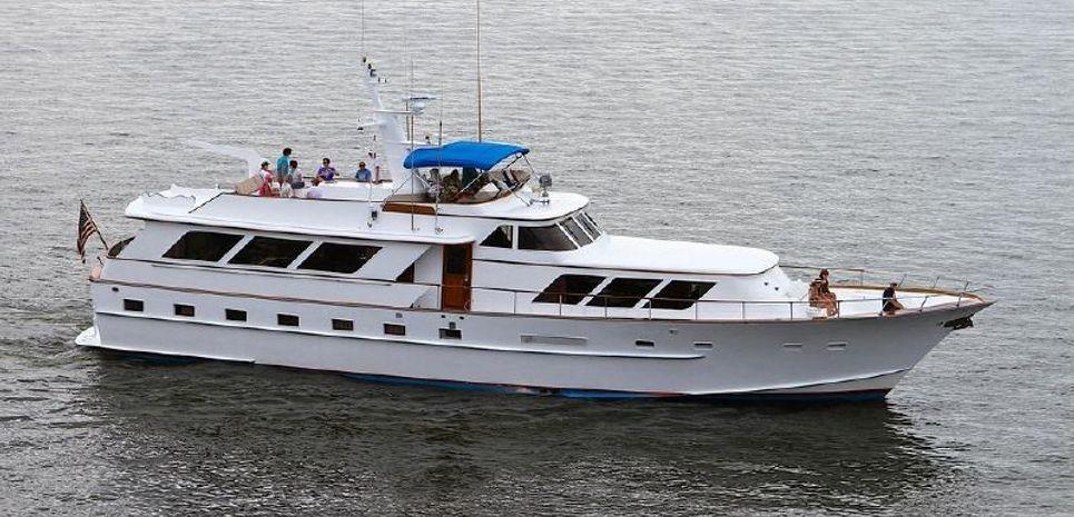 HMS Destiny Charter Yacht